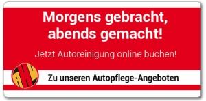 AHU AutoCrew - Autopflege-Service - Morgens gebracht, abends gemacht!